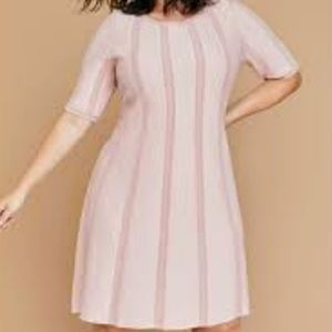 Pink sweater dress size 18/20 *price firm*